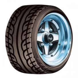 Wheels & tires Rims & tires - 1:24 - Aoshima - abk155472 | Tom's Modelauto's