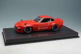 Rocket Bunny  - Pandem 240Z red - 1:18 - Make Up - mupIM001A1 | Tom's Modelauto's