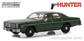 Dodge  - Monaco *Hunter* 1977  - 1:43 - GreenLight - 86537 - gl86537 | Tom's Modelauto's