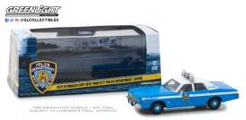 Plymouth  - Fury 1975  - 1:43 - GreenLight - 86535 - gl86535 | Tom's Modelauto's