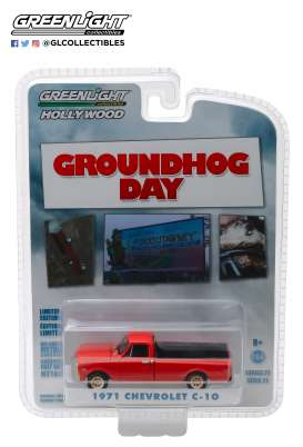 Chevrolet  - C-10 1971 red - 1:64 - GreenLight - 44810C - gl44810C | Tom's Modelauto's