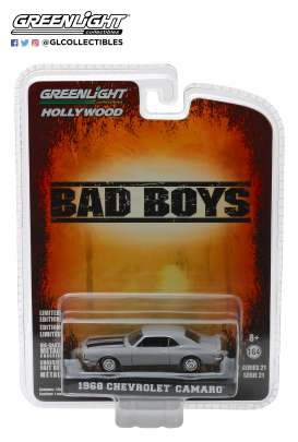 Chevrolet  - Camaro *Bad Boys* 1968 grey - 1:64 - GreenLight - 44810D - gl44810D | Tom's Modelauto's