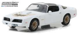 Pontiac  - Firebird Trans Am 1977 cameo white - 1:43 - GreenLight - 86331 - gl86331 | Tom's Modelauto's