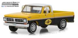 Ford  - F-100 1972 yellow/black - 1:64 - GreenLight - 41060D - gl41060D | Tom's Modelauto's