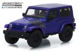 Jeep  - Wrangler  2017 extreme purple - 1:43 - GreenLight - 86151 - gl86151 | Tom's Modelauto's
