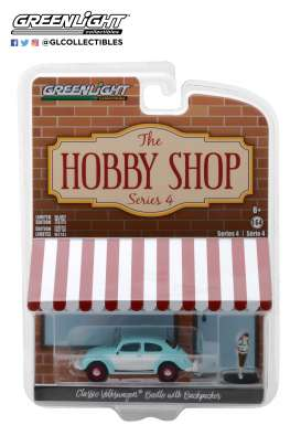 Volkswagen  - Beetle  1962  - 1:64 - GreenLight - 97040F - gl97040F | Tom's Modelauto's
