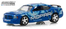 Dodge  - Charger SRT8 2008 blue/ light blue - 1:64 - GreenLight - 29961 - gl29961 | Tom's Modelauto's