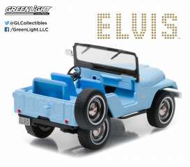 Jeep  - CJ-5 sierra blue - 1:64 - GreenLight - 29955 - gl29955 | Tom's Modelauto's