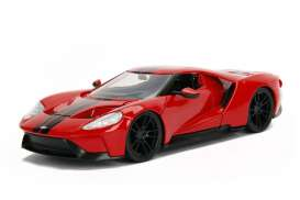 Ford  - 2005 red/black - 1:24 - Jada Toys - jada99388r | Tom's Modelauto's