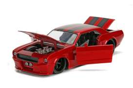 Ford  - Mustang hard top 1965 red - 1:24 - Jada Toys - jada99967r | Tom's Modelauto's