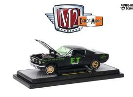 Ford  - Mustang 2+2 Fastback 1966 black - 1:24 - M2 Machines - M2-40300-61A | Tom's Modelauto's