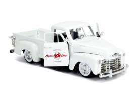 Chevrolet  - pick-up 1953 pearl white - 1:24 - Jada Toys - 99177 - jada99177w | Tom's Modelauto's
