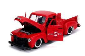 Chevrolet  - pick-up 1953 primer red - 1:24 - Jada Toys - 99178 - jada99178r | Tom's Modelauto's