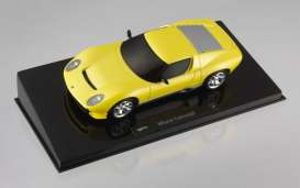 Lamborghini  - 2007 yellow metallic - 1:43 - Hotwheels Elite - hwmvp4882 | Tom's Modelauto's