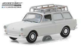 Volkswagen  - Type 3 Panel Van 1963 white - 1:64 - GreenLight - gl29920B | Tom's Modelauto's