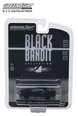 Chevrolet  - Camaro Z/28 TA Racing 1969 black - 1:64 - GreenLight - 27960B - gl27960B | Tom's Modelauto's