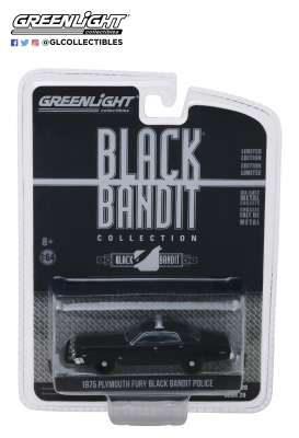 Plymouth  - Fury 1975 black - 1:64 - GreenLight - 27960D - gl27960D | Tom's Modelauto's