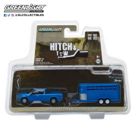 Ford  - F-150 2016 blue - 1:64 - GreenLight - 32140C - gl32140C | Tom's Modelauto's