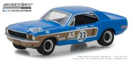 Ford  - Mustang 1968  - 1:64 - GreenLight - 13220E - gl13220E | Tom's Modelauto's
