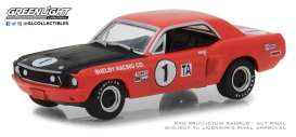 Ford Shelby - Mustang 1968  - 1:64 - GreenLight - 13220F - gl13220F | Tom's Modelauto's