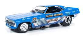 Plymouth  - Cuda Funny Car 1970 blue/white - 1:18 - Auto World - 1173 - AW1173 | Tom's Modelauto's