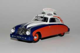 Delahaye  - 148L blue/white/red - 1:43 - Magazine Models - TDF2 - magTDF2 | Tom's Modelauto's