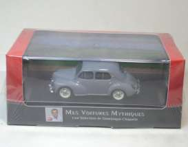 Renault  - 4CV 1951 grey - 1:43 - Magazine Models - AT4cvGY - magAT4cvGY | Tom's Modelauto's