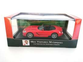 Dodge  - Viper SRT 2003 red - 1:43 - Magazine Models - magATviper | Tom's Modelauto's
