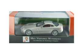 Mercedes Benz  - SLR 2003 grey - 1:43 - Magazine Models - ATslr - magATslr | Tom's Modelauto's