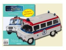 NYSA  - 522 Ambulance white/red/blue - 1:43 - Magazine Models - PCnysa522am - magPCnysa522am | Tom's Modelauto's