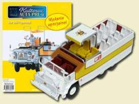 Papamobile  - white/yellow - 1:72 - Magazine Models - PCpapa - magPCpapa | Tom's Modelauto's