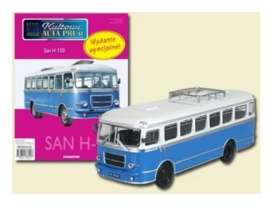 San  - H-100A white/blue - 1:72 - Magazine Models - PCsanH100A - magPCsanH100A | Tom's Modelauto's