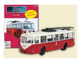 Vetra  - VBRh bus red/white - 1:72 - Magazine Models - magPCvetra | Tom's Modelauto's