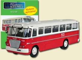Ikarus  - 620 red/white - 1:72 - Magazine Models - magPCikarus620 | Tom's Modelauto's