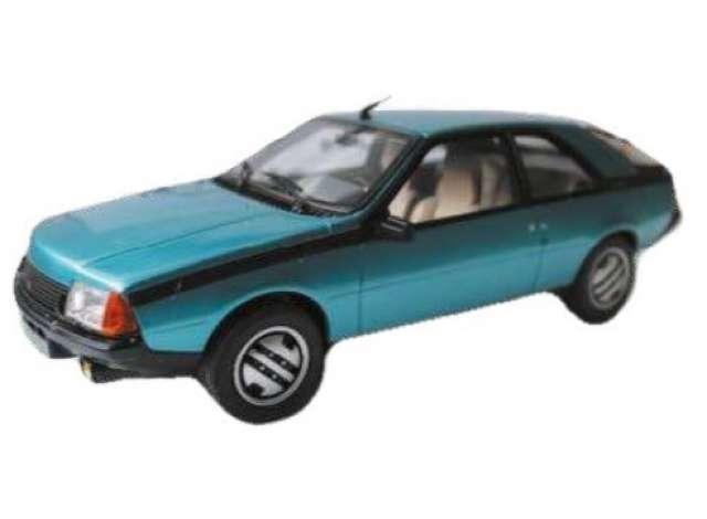 SOLIDO 4302800 Renault Fuego GTX 1982 (Light Blue Metallic ... |Blue Renault Fuego
