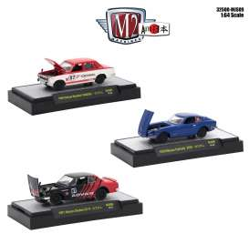 Assortment/ Mix  - various - 1:64 - M2 Machines - M2-32500Mjpn09 | Tom's Modelauto's