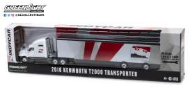 Kenworth  - 2018 white/red - 1:64 - GreenLight - 29951 - gl29951 | Tom's Modelauto's
