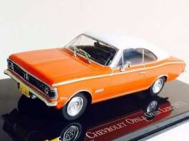 Chevrolet  - Opala Gran Luxo 1971 orange/white - 1:43 - Magazine Models - ChevyOpala71 - magChevyOpala71 | Tom's Modelauto's