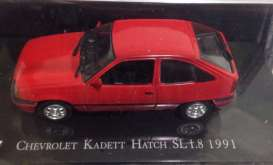 Chevrolet  - Kadett Hatch SL 1.6ltr 1991 red - 1:43 - Magazine Models - magChekadett | Tom's Modelauto's