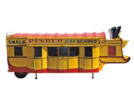 Pinder Circus  - yellow/red - 1:43 - Magazine Models - PinC05 - magPinC05 | Tom's Modelauto's