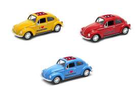 Volkswagen  - Beetle 1963 various - 1:34 - Welly - welly42343AM | Tom's Modelauto's