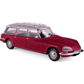 Citroen  - Break 21 1970 bordeaux - 1:18 - Norev - nor181592 | Tom's Modelauto's