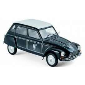 Citroen  - Dyane 6 *Caban* 1977 black - 1:18 - Norev - nor181622 | Tom's Modelauto's