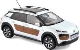 Citroen  - C4 Cactus 2014 white/chocolate - 1:18 - Norev - nor181651 | Tom's Modelauto's