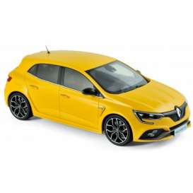 Renault  - Megane RS 2017 yellow - 1:18 - Norev - nor185226 | Tom's Modelauto's