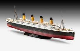 Boats  - RMS Titanic 1912 red/black/white - 1:600 - Revell - Germany - revell05498 | Tom's Modelauto's