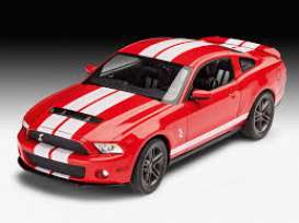 Ford  - Shelby GT 500 2010  - 1:25 - Revell - Germany - revell07044 | Tom's Modelauto's
