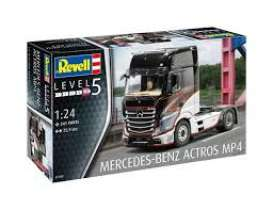 Mercedes Benz  - Actros MP4 2011  - 1:24 - Revell - Germany - 07439 - revell07439 | Toms Modelautos