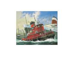 Boats  - Harbour Tug Boat  - 1:108 - Revell - Germany - 65207 - revell65207 | Tom's Modelauto's