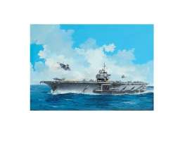 U.S.S.  - Aircraft Carrier U.S.S. Forres 1955  - 1:542 - Revell - Germany - 05156 - revell05156 | Tom's Modelauto's